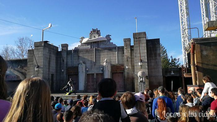 Parque Warner: Gothan City Stunt Show