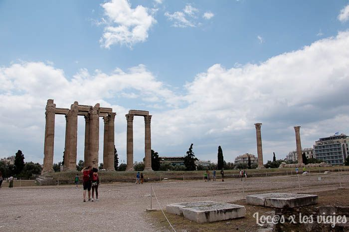 Atenas: Templo de Zeus