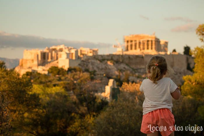Atenas: Atardecer desde la colina Filippapos
