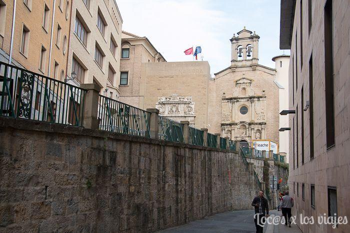 Pamplona en un día: la Cuesta de Santo Domingo