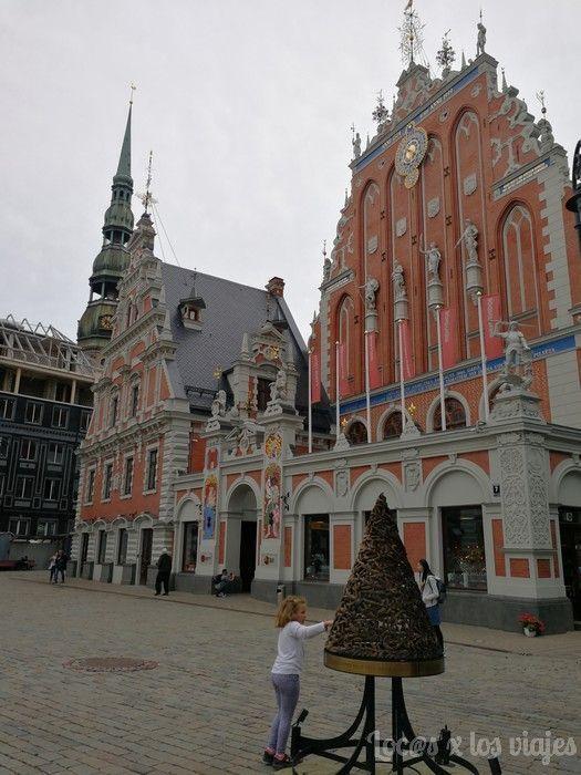 Primer árbol de Navidad de Riga