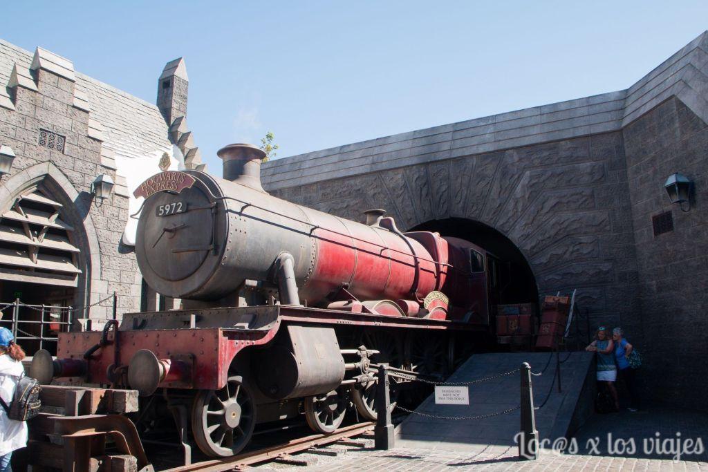 Tren a Hogwart en Universal Studios Hollywood