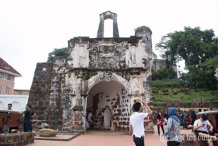 Melaka: Porta de Santiago