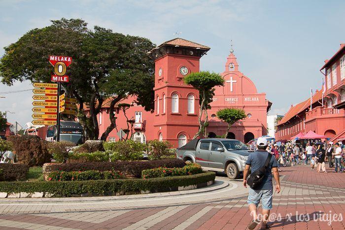 Melaka: Plaza Neerlandesa