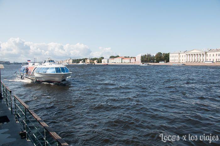 El Hidrofoil para ir a Peterhof incluido en la Saint Petersburg CityPass