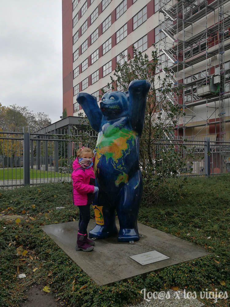 Berlín con niños: Oso Buddy