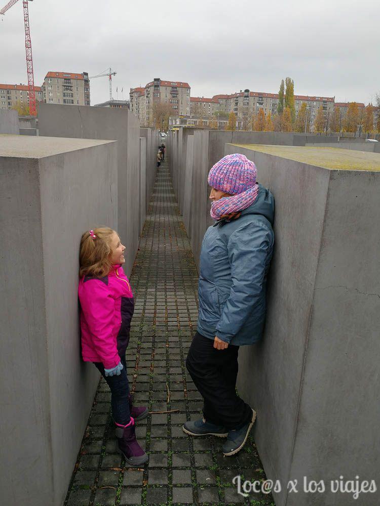 Berlín con niños: Monumento al Holocausto