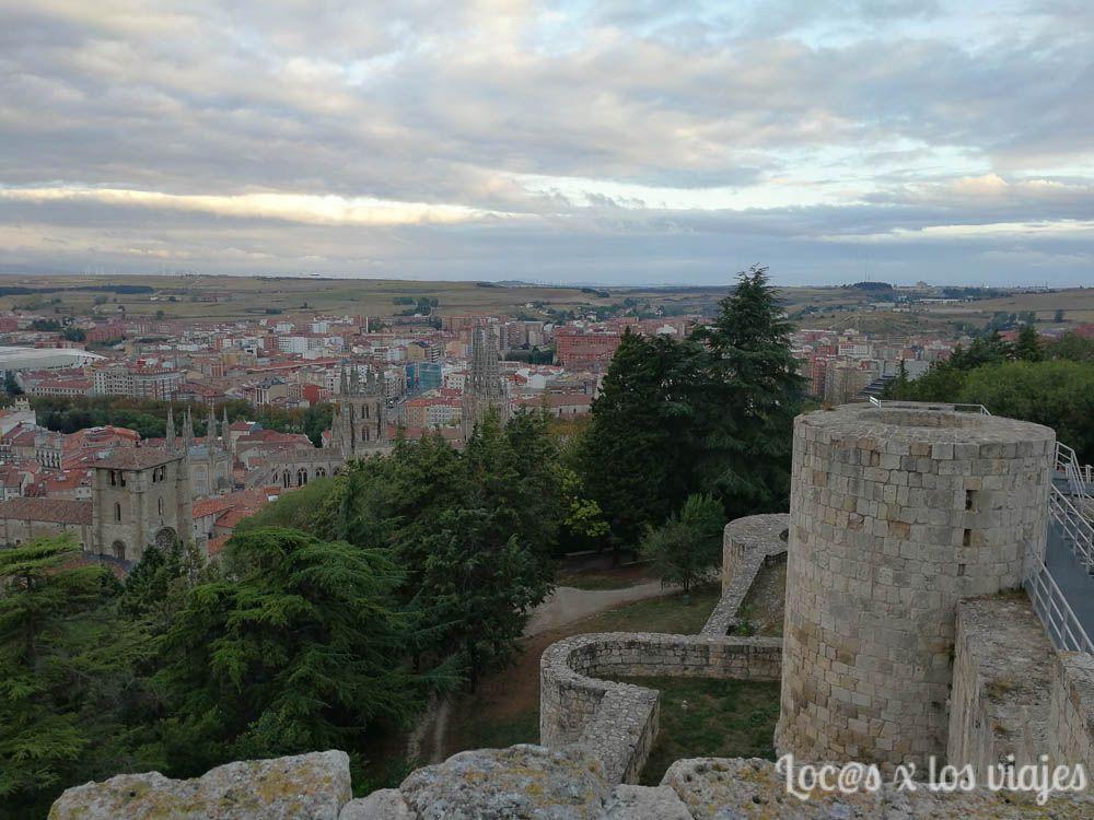 Burgos en un fin de semana con niños: Vistas de Burgos desde el Castillo