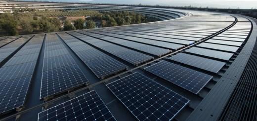 Las instalaciones de apple ahora usan el 100% de energías renovable