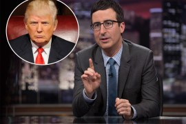 John Oliver and Trump