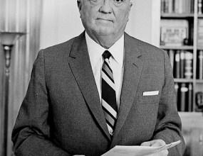 J. Edgar Hoover, baas van het FBI van bij het ontstaan van de organisatie in 1935 tot aan zijn dood in 1972