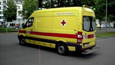 Een ambulance van de Luikse spoeddiensten