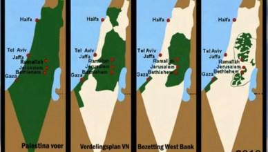Een erkenning van de derde kaart op deze rij, meer vraagt het Palestijnse volk niet.