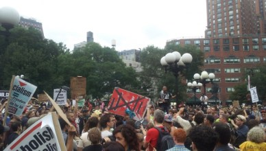 "Occupy Wall Street is de 99% die zegt: ""Yes, we can"""