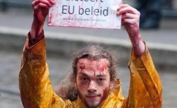 Actie tegen samenkomst EU-wapenhandelaars naar Midden-Oosten