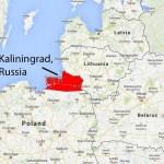 De Russische enclave en zeemachtbasis van Kaliningrad bevindt zich in een baai van de Baltische Zee. Die baai is voor het grootste westelijke deel Pools. Het Amerikaanse schip USS Cook voerde manoeuvres uit in het midden van de baai