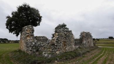De ruïne van de Ermita de San Miguel. In de buurt van deze plek kwam Piet Akkerman om het leven op 1 januari 1937