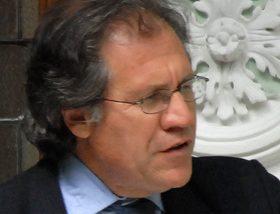 Secretaris-generaal Luis Almagro van de Organisatie van Amerikaanse Staten (OAS