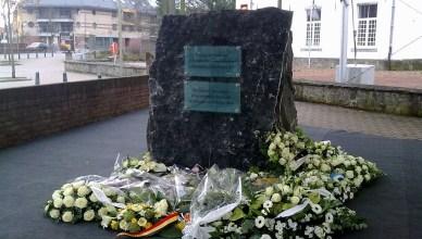 Monument voor de slachtoffers in Buizingen