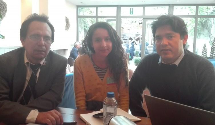 Miguel Angel Urbina - Bertha Zúniga Cáceres en Víctor Fernández