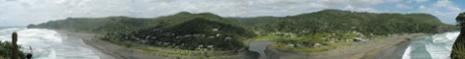 View from Lion Rock - Piha Beach, NZ