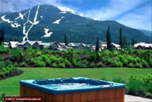Luxury Rental by Owner at Montebello - Hottub, view, deck Photographs