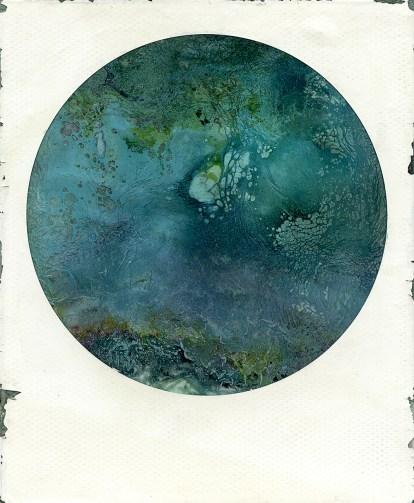 La Planète Bleue, polaroid, 2018