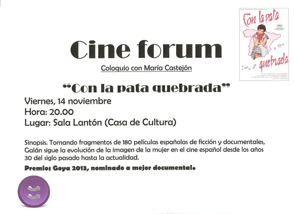 Cine Forum Maria Castejon