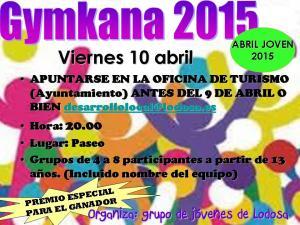 Gymkana 2015