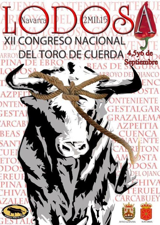 Cartel-XII-congreso-del-toro-de-cuerda-Lodosa