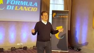 Lodovico Marenco nel palco di Formula di Lancio - Edizione 2018