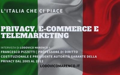 PRIVACY, E-COMMERCE E TELEMARKETING | Intervista a Francesco Pizzetti