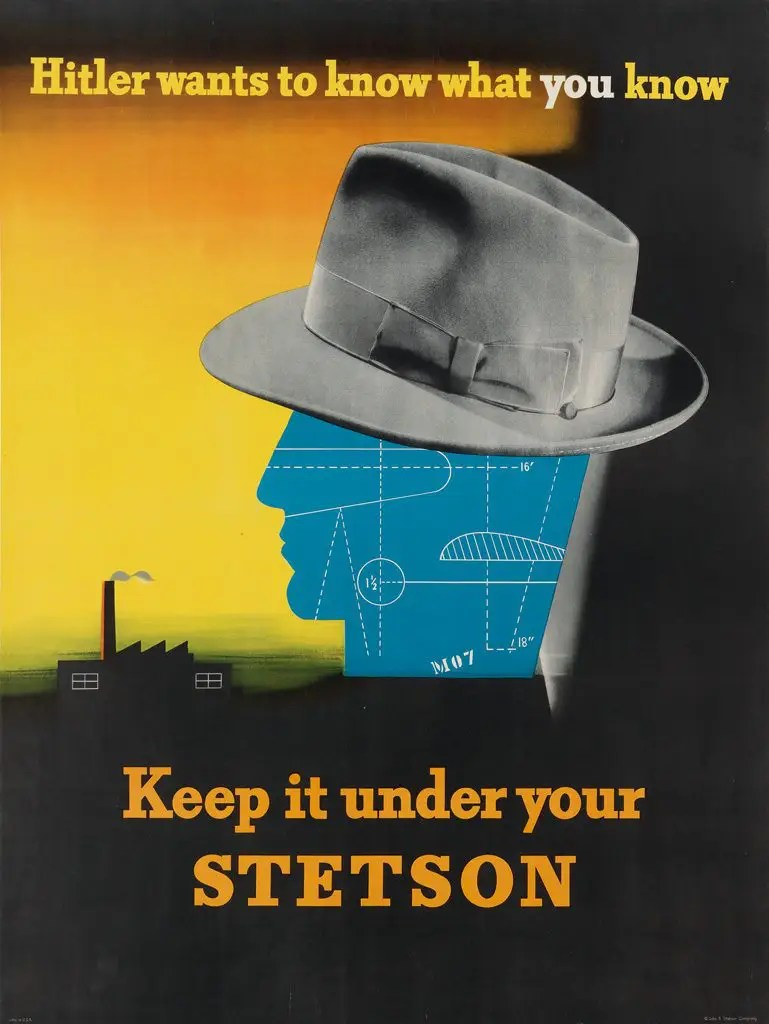 Keep it under your Stetson