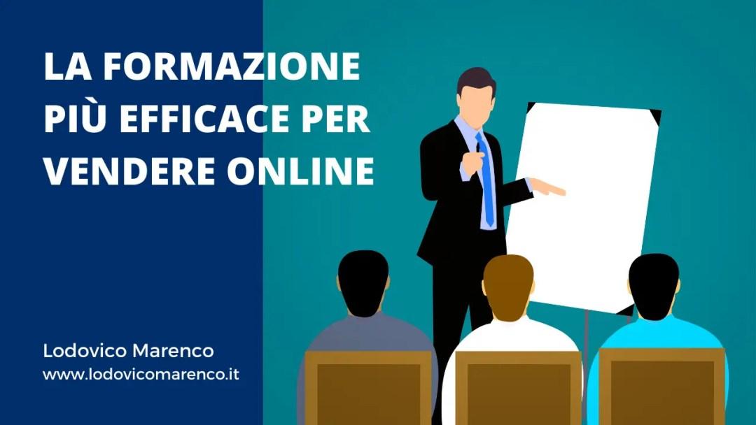 La formazione più efficace per vendere online