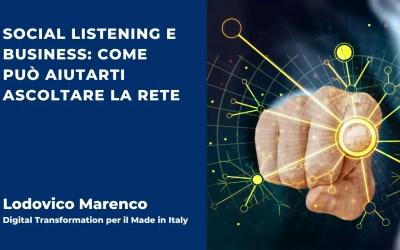 Social Listening e Business: come può aiutarti ascoltare la rete