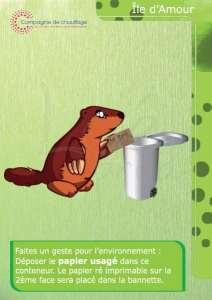 Panneau PVC environnement