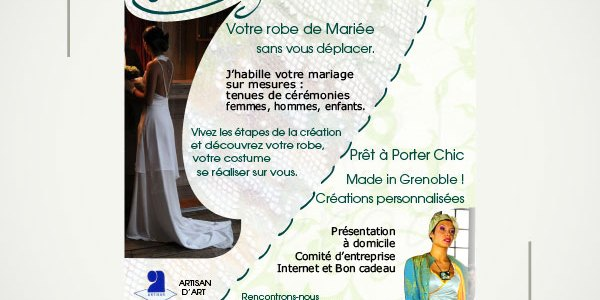 Flyer double Christelle Clame