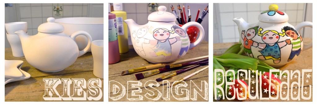 Kies, design, resultaat