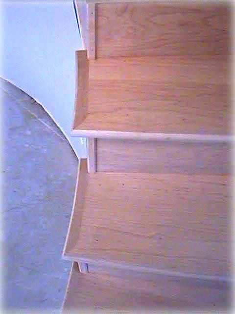 Stair Treads Information Page Loeffler Stair Company   Knotty Alder Stair Treads   Hardwood Lumber   Handrail   Railing   Butcher Block   Lumber