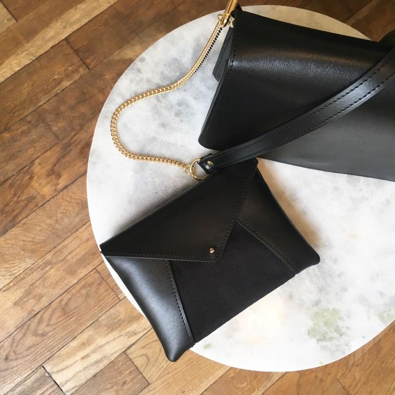hiélo sac le mexicain pochette New Yorkaise noir
