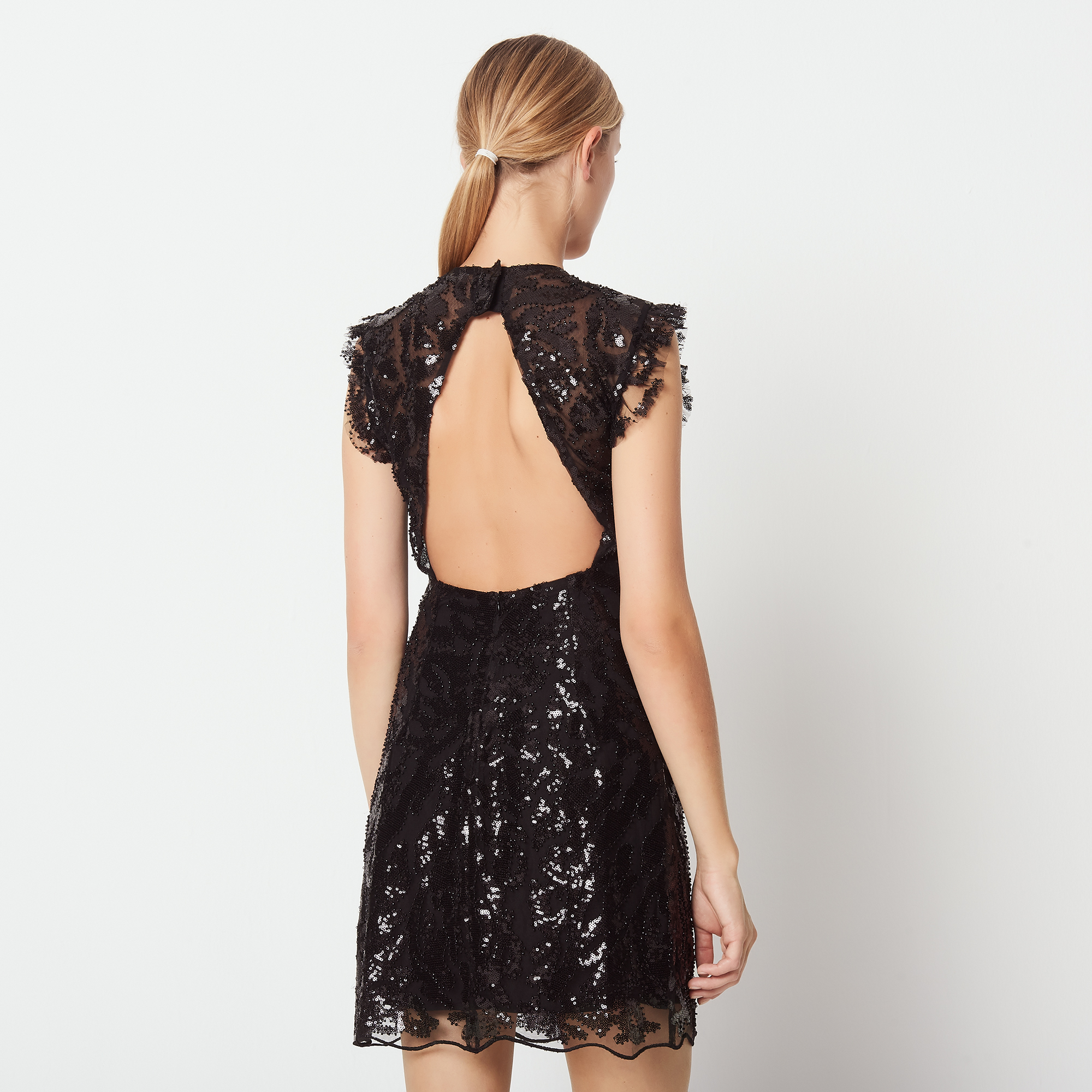 robe a sequins sandro