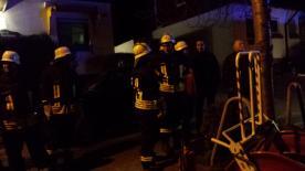 Kameraden aus Dasbach und Lenzhahn nach Errichtung der Wasserversorgung