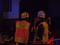 Einsatzleiter und Stadtbrandinspektor