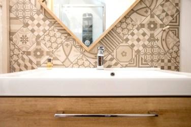 Salle de douche - chambre Plume