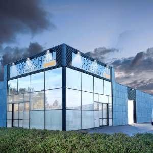 facade. loevschall, Loevschall A/S, LED, lys, good light, light, spot, strahler
