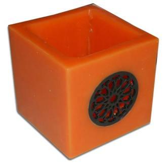 Cera portacandela cubo 10x10