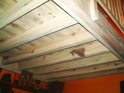 Mezzanine Floor with Hideaway Loft Ladder in Cape Town
