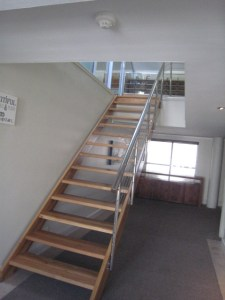 Staircase to loft conversion office