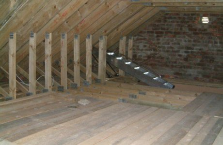 Storage Space in Roof Stellenberg Cape Town