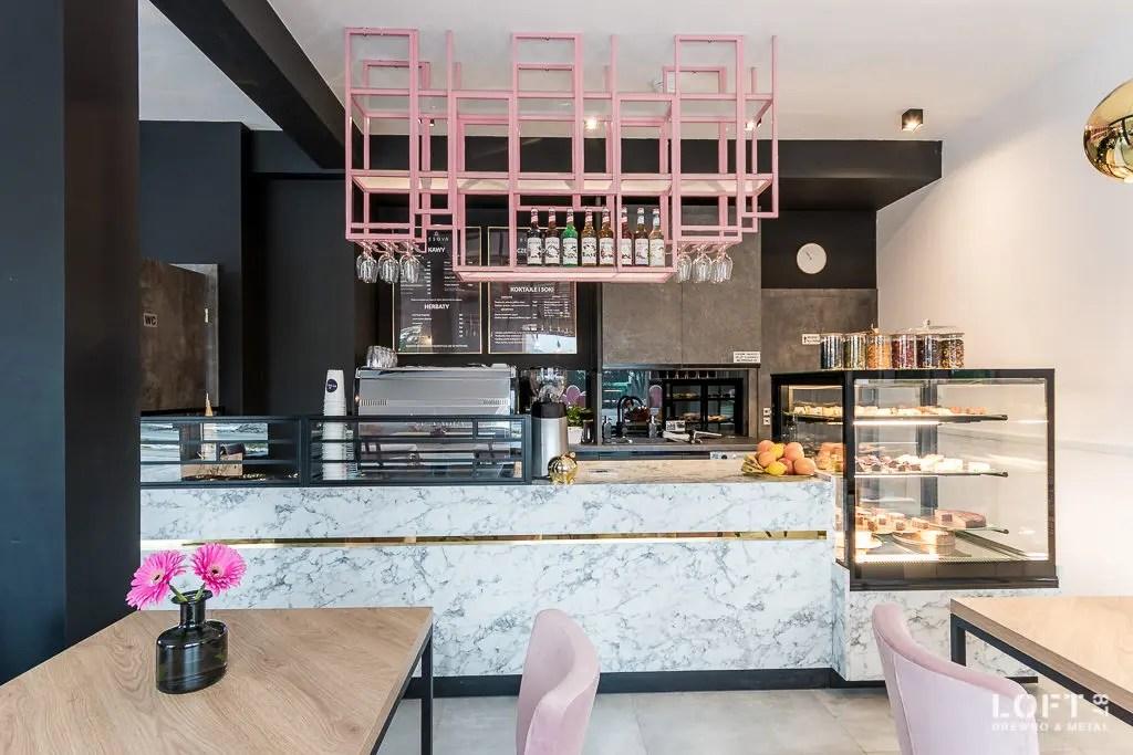 Realizacja Loft 87 kawiarnia Besova bar